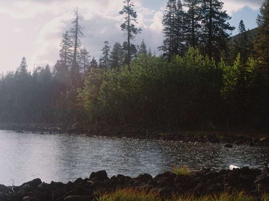 Lake Eiler in Thousand Lakes Wilderness, Lassen National Forest