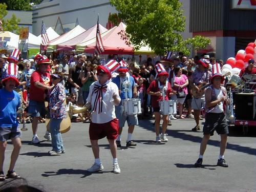 Mount Shasta Fourth of July Parade. (Courtesy of the Mount Shasta Chamber of Commerce)