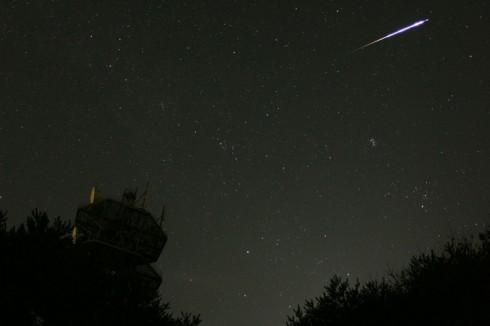 The Perseid meteor shower is easily observed from northern California.