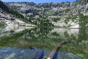 Big Bear Lake in the Trinity Alps.