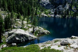 Little Bear Lake in the Trinity Alps.