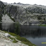 Upper Canyon Creek Lake in the Trinity Alps.