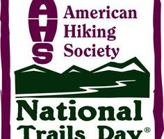 National Trails Day sponsored by the American Hiking Society