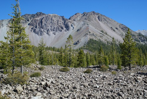 Chaos Crags in Lassen Volcanic National Park