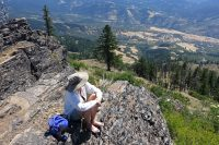 Hiking the Grizzly Peak Trail Near Ashland, Oregon