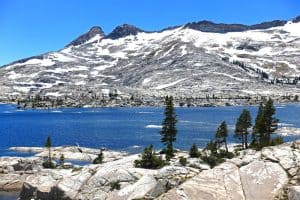 Hiking Echo Lakes to Lake Aloha: Desolation Wilderness via the Pacific Crest Trail
