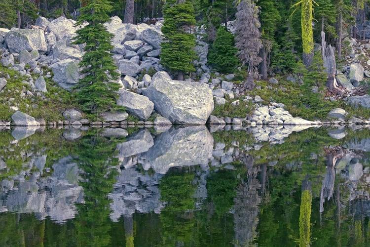 Little Duck Lake, Russian Wilderness, dusk