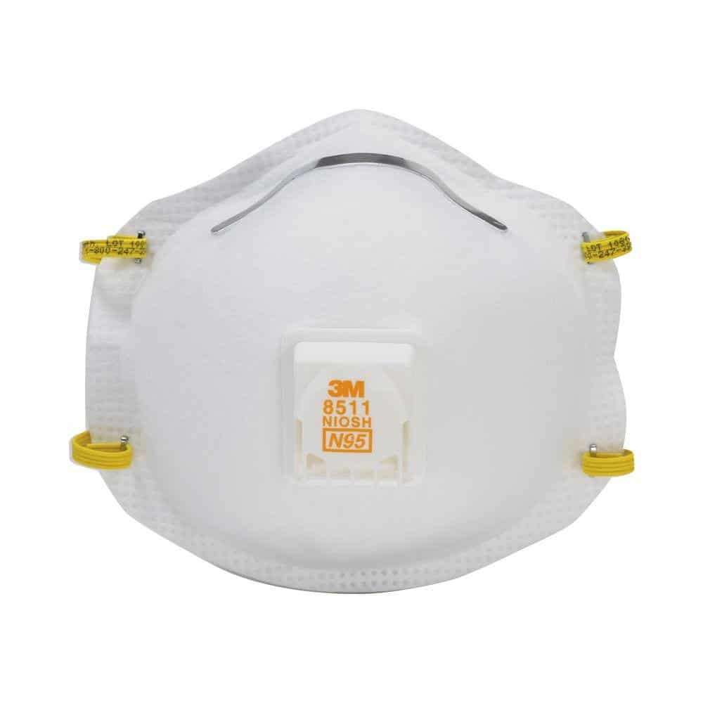 An N95 Particulate Respirator Mask works well when wildfire smoke is thick. Make sure to put it on properly and adjust it so it fits tightly on your face.