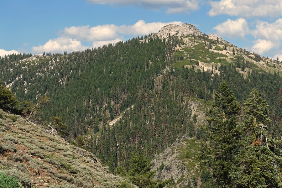 Etna Mountain in Klamath National Forest, north of Russian Wilderness and west of the town of Etna in Northern California.