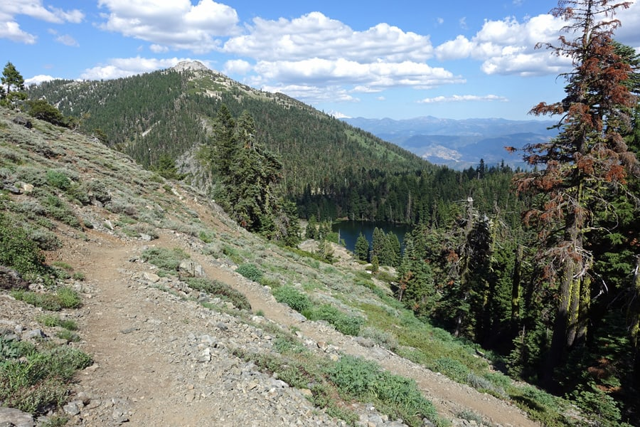 Ruffey Lake Trail, Ruffey Lake, and Etna Mountain Near Russian Wilderness, Klamath National Forest