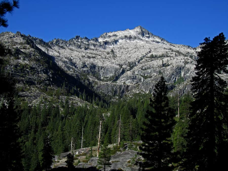 Backpacking in Northern California mountains in spring is definitely possible. The Sierra Nevada, Cascades, and Trinity Alps all have trails suitable for long and short backpack trips.