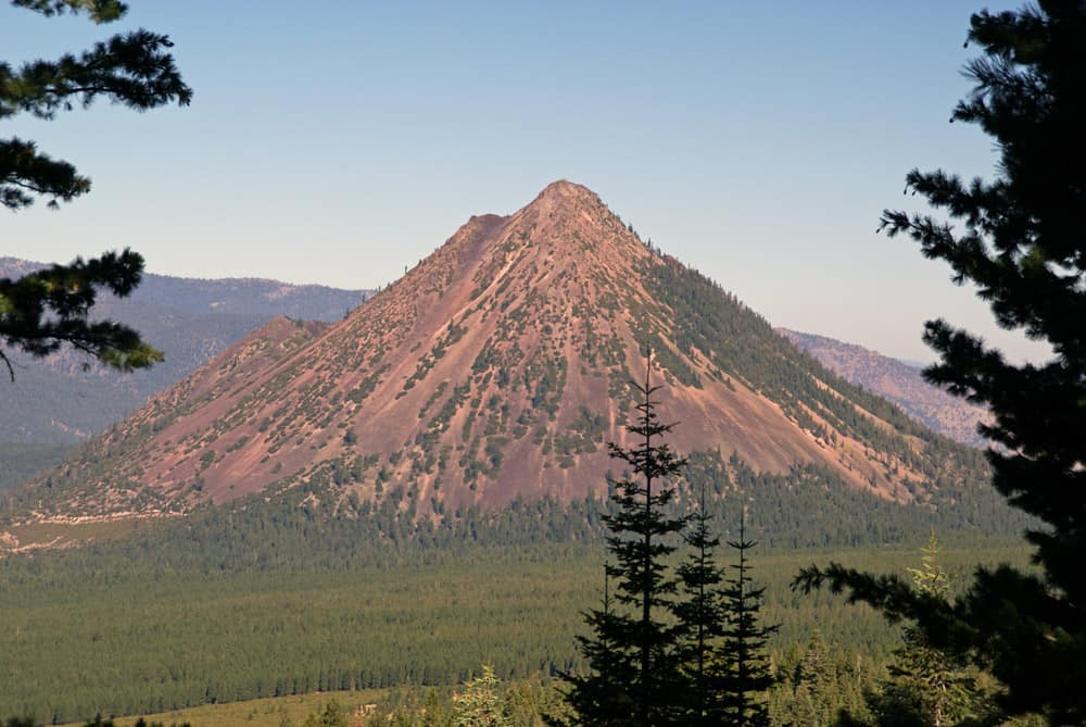 Accessed by a hiking trail, Black Butte is visible from Mount Shasta and elsewhere in Siskiyou County.