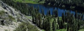 Hike the trail to Taylor Lake for camping, fishing, and swimming. Russian Wilderness in Klamath National Forest.