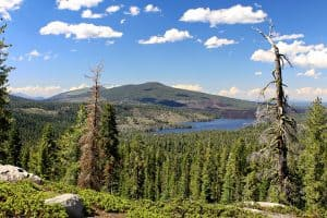 Backpacking Snag Lake, Widow Lake, and Jakey Lake in Lassen Volcanic National Park
