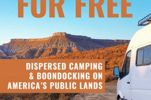 My New Book on Dispersed Camping and Boondocking Now Available!