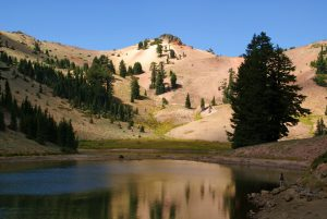 Exploring Ridge Lakes and Sulphur Works in Lassen Volcanic National Park