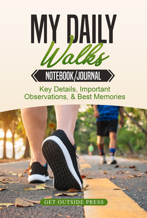 Daily Walking Notebook Journal Diary Logbook: walk for fitness and to lose weight, and save all your data.