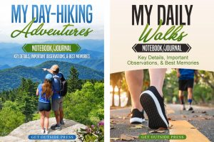 Capture All the Details and Memories of Your Day Hikes and Walks with My New Notebook/Journals